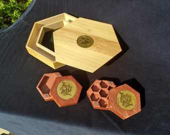 Together We Role Dice Boxes and Roll Trays