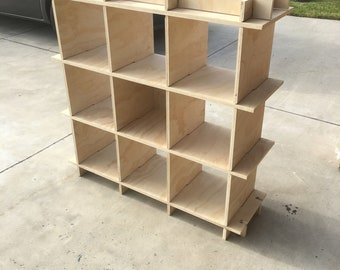 Slot Together Shelf Unit