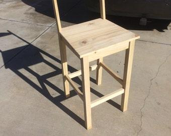 "Bar Stool,   (27"" seat height))"