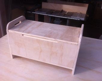 Plywood Storage Chest. 12 x 14 x 36