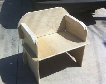 Slot together Plywood Chair