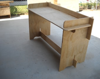 Slot together Camp Table / Patio Table