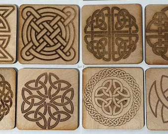 Holiday Pricing - Celtic Knot Coaster Pack