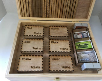 Ticket To Ride Game - Deluxe Box for game and accessories