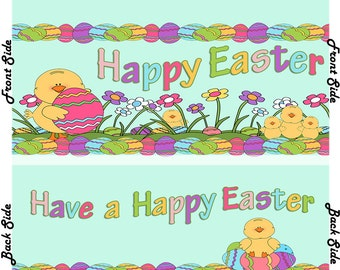 Easter - Hersheys Candy Bar Wrappers (Listing is for 12 Wrappers)