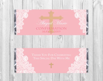 Confirmation - Hershey's Chocolate Bar Wrapper (Instant Download)