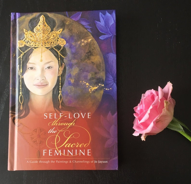 BOOK: SIGNED COPY Self-Love Through the Sacred Feminine  A image 0