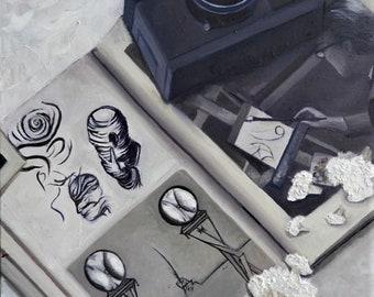 Homage to Salvador Dali