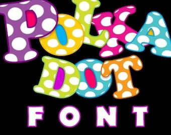 FONTS - Polka Dot Perfection