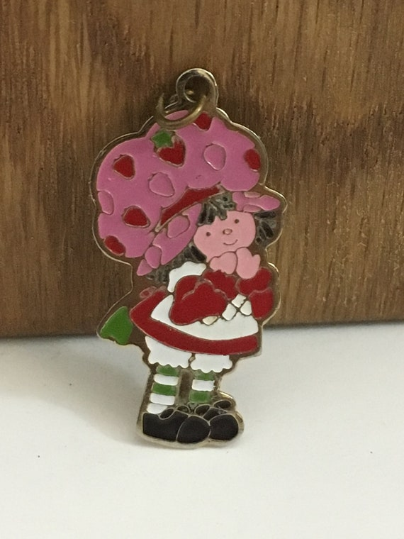 Strawberry Shortcake pendant