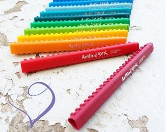Artline Brush Markers-  Calligraphy Pen Set-  Ombre Handlettering Marker- Artline Marker Artstix- Brush Pens-  Handlettering Markers