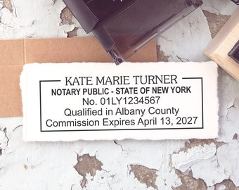 Notary Public Stamp Etsy