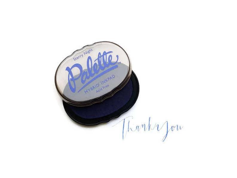 Navy Blue Stamp Pad Royal Ink