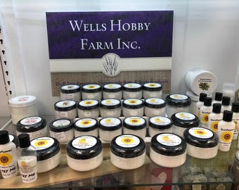Goats Milk and Honey Lotion-Choose scent