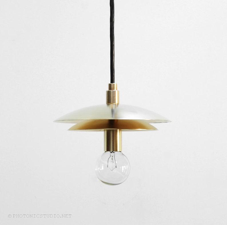 Custom Modern Pendant Light Mid Century Pendant Light Etsy