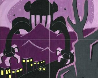 The Purple Octimus