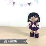 Sailor Saturn Amigurumi Crochet Doll Pattern