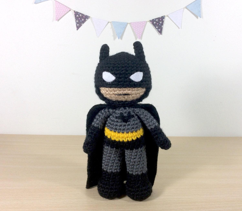Batman Amigurumi Crochet peluches | Etsy