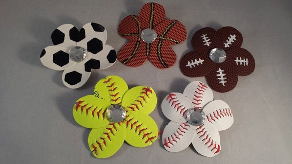 2f5f2081d Sports Mom Flip Flop and Hair Clips