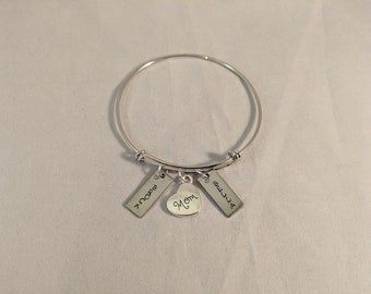 Mom and Grandma Personalized Bracelet