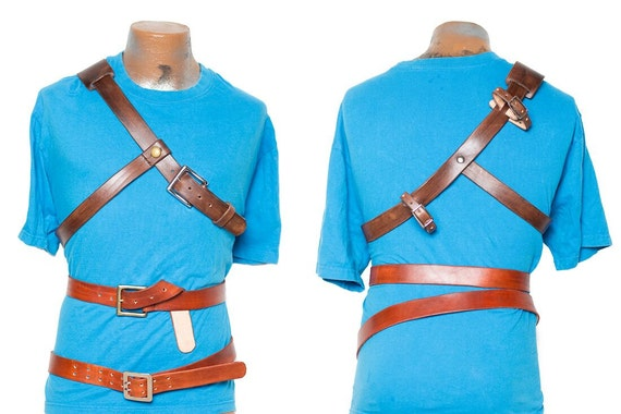 Legend of Zelda Link Breath of the Wild Leather Belts & | Etsy