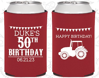 50th Birthday Favors Customized Party Tractor Farm FavorsBirthday 20274