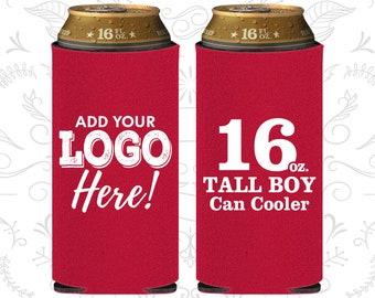 Tall Boy Neoprene Can Cozy with Funny Designs Bucket List 24 oz