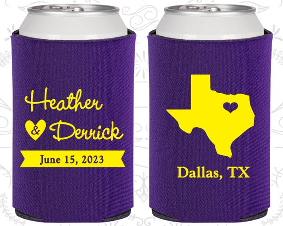 Texas Wedding Gifts Coolies Destination Wedding Favors State To