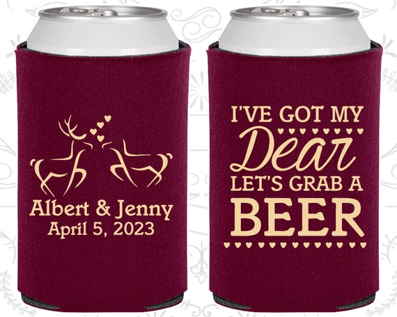 Southern Wedding Gifts: I Got My Dear, Lets Grab A Beer, Personalized Wedding Gift