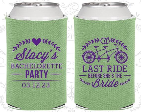 Nash Bash Bachelorette Party Hair Tie Favors Last Ride Before She/'s A Bride Nashlorette