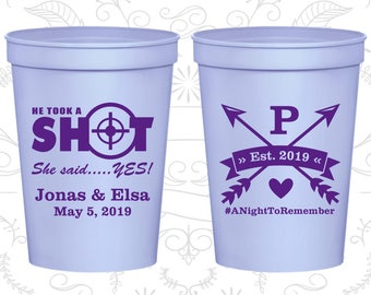 Lilac Stadium Cups, Lilac Cups, Lilac Party Cups, Lilac Wedding Cups (470)