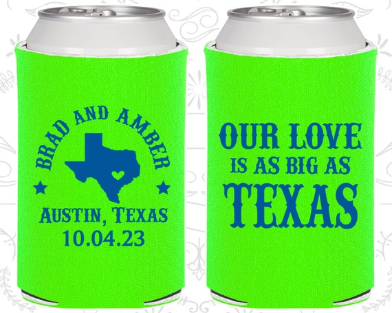 Our Love Is As Big As Texas Wedding Gift Ideas Texas Wedding Etsy