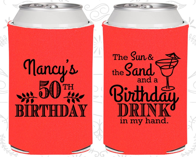 50th Birthday Ideas Party Favors