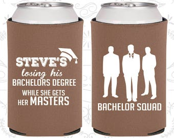 Losing his bachelors degree while she gets her masters, Unique Bachelor Gifts, Bachelor Squad, Bachelor Gifts (40068)