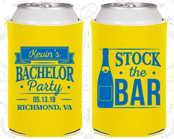 Stock The Bar Bachelor Party Unique Bachelor Gift Ideas Etsy