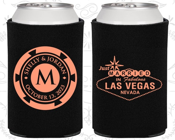 Las Vegas Wedding Favors Personalized Wedding Just Married Gifts