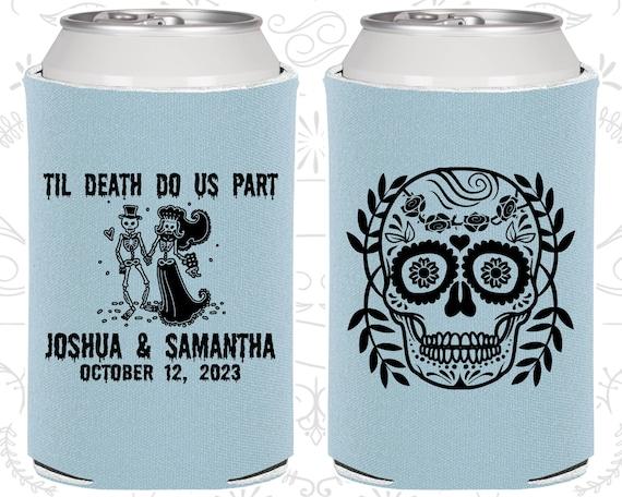 Day of the Dead Wedding Gift Sugar Skull Wedding Gift C597 Till Death Do Us Part Dia De Los Muertos Wedding Candy Skull Wedding Favors