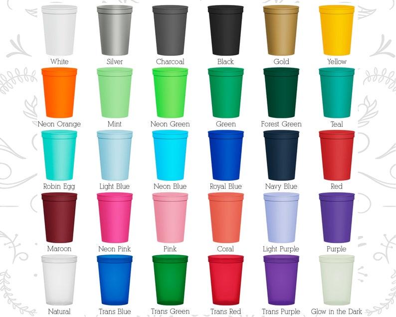 Wedding Cups Wedding Favors Plastic Cups Personalized Cups Hockey Wedding Custom Plastic Cups Custom Wedding Cups C312 Stadium Cups