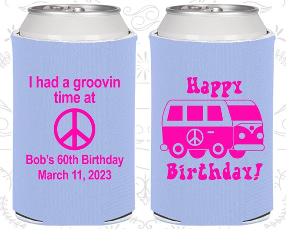 60th Birthday Ideas Party Favors