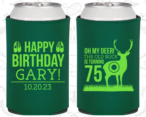 75th Birthday Favors Promotional Party Hunting Deer 20278
