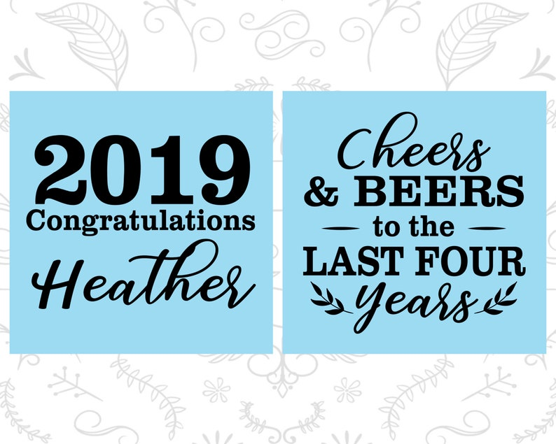 Graduation Party Favors Graduation Shot Glass Cheers and Beers Grad Shot Glasses 130023 Graduation 2019 College Grad Party
