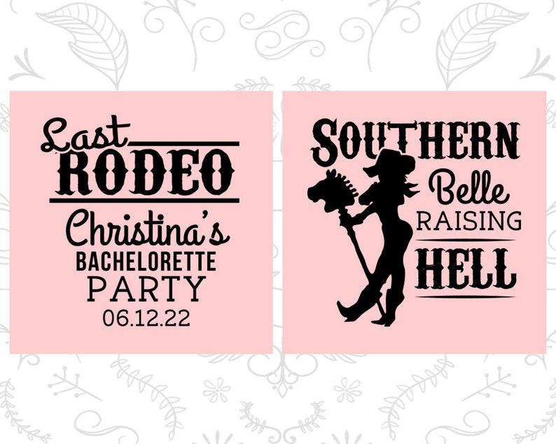 Raising Hell Bachelorette Cups Wild West Bachelorette Cups Custom Bachelorette Cup 60042 Last Rodeo