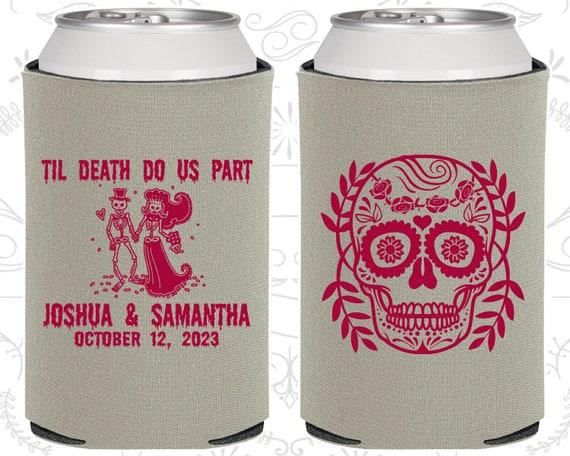Sugar Skull Wedding Favors Dia De Los Muertos Wedding Till Death Do Us Part Day of the Dead Wedding Favors 597 Candy Skull Wedding
