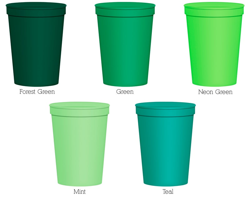 Personalized Cups Personalized Plastic Cups 37 Wedding Cups Party Cups Personalized Stadium Cups Stadium Cups Plastic Cups