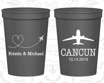 Charcoal Stadium Cups, Charcoal Cups, Charcoal Party Cups, Charcoal Wedding Cups (92)