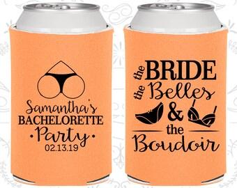 Bachelorette Party Can Coolers, Brides Belles The Boudoir, Bachelorette Party Favors, Bachelorette Can Cooler, Bachelorette Ideas (C60085)