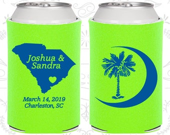 Lime Green Wedding, Lime Green Can Coolers, Lime Green Wedding Favors, Lime Green Wedding Gift, Lime Green Wedding Decorations (75)