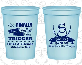 We finally pulled the trigger, Imprinted Stadium Cups, Antler Cups, Plastic Beer Cups (564)