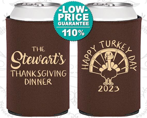 Thanksgiving favor Custom Thanksgiving Can Cooler Friendsgiving 2019 PLUCK YOU Custom Favor,Personalized Thanksgiving Thanksgiving bb