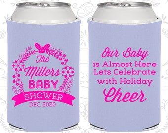 Christmas Baby Shower, New Baby Shower Ideas, Holiday Baby Shower, Xmas Baby Shower, Shower Favors (90086)